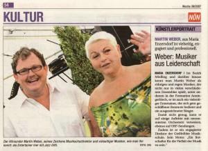 Presse: Weber Martin & Jazz Gitti Musiker aus Leidenschaft